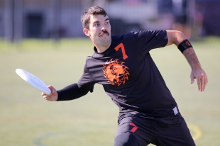 FRISCO, TX: Ring of Fire vs Florida United in Pre-Quarters. 2015 USA Ultimate National Championships. October 2, 2015. © Alex Fraser for UltiPhotos.com